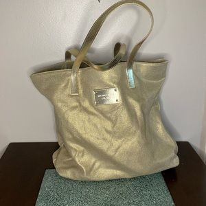 Michael Kors beach bag.